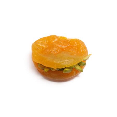 Apricot With Pistachio