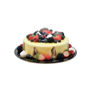 Berry Vanilla Cake