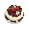 Berry Vanilla Cake Top