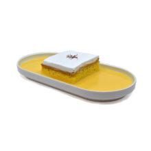 Saffron Milk Cake