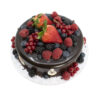 Berry Chocolate Cake Top