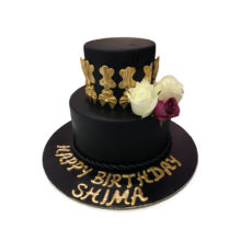 Black Magic Birthday Cake