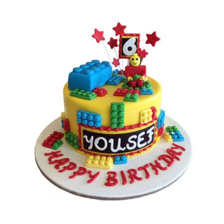 Lego Land Birthday Cake