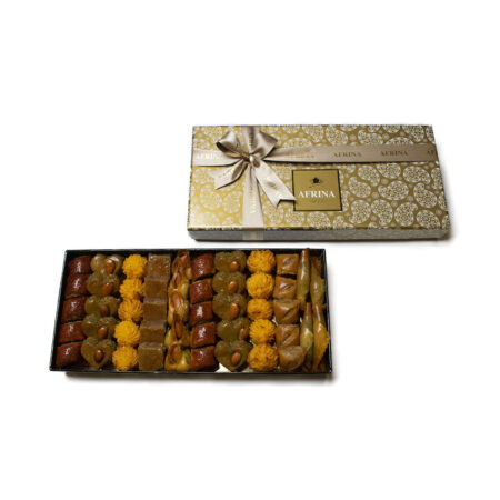 Baklava gold box