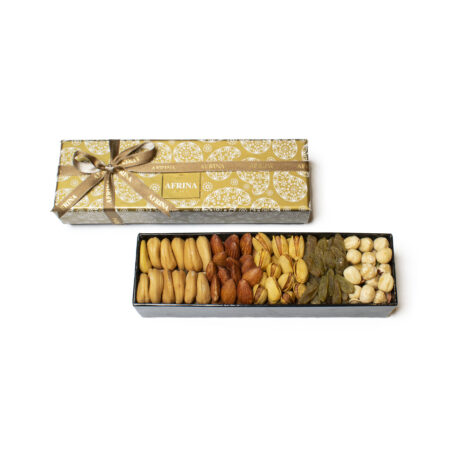 Mix Nuts Salted Small Golden Box