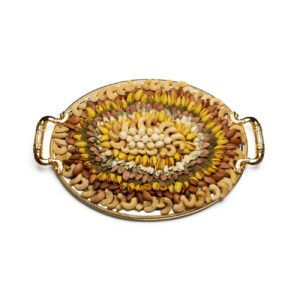 Mix Nuts Salted Small Oval Tray
