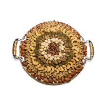 Mix Nuts Sweet Small Round Tray