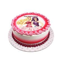 Barbie and Pop-star Birthday Cake