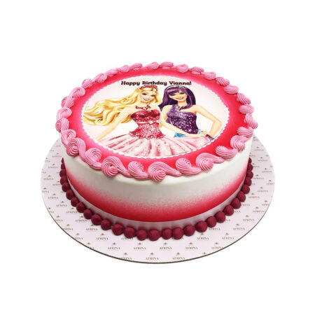 Barbie and Pop-star Birthday Cake
