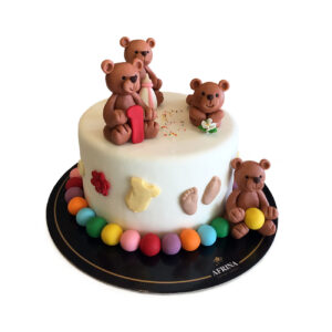 Teddy Birthday Cake