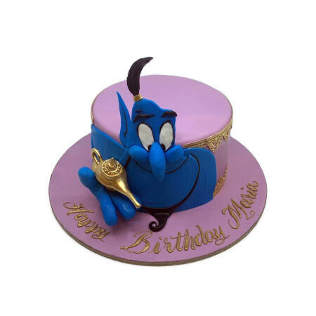 Aladdin Birthday cake