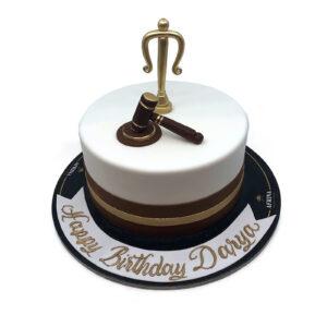 Justice Birthday Cake