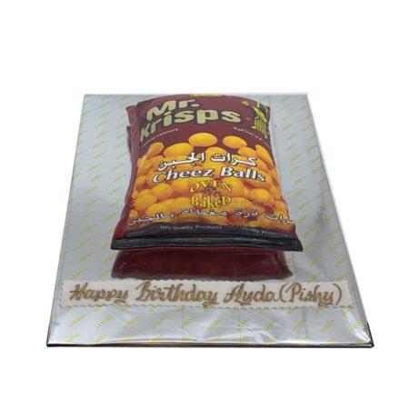 Yummy Cheese Ball Cake
