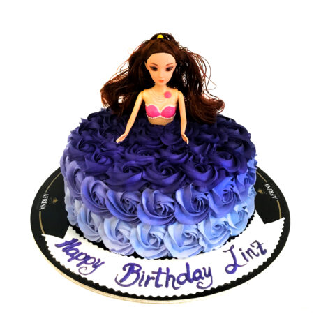 Barbie Girl Birthday Cake